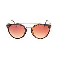Óculos Redondo Marrom