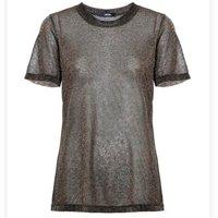 T-shirt metalizada