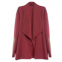 casaco burgundy