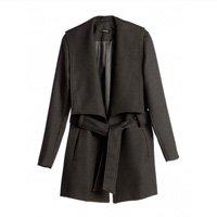 casaco amarração