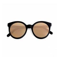óculos preto e laranja