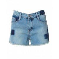 Shorts Jeans Marmorizado