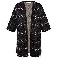 Kimono Animale tricô jacquard