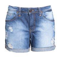 Short jeans Letage desfiado