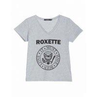 T-Shirt Manga Curta Roxete