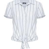 Camisa Crepe Amarração Prates